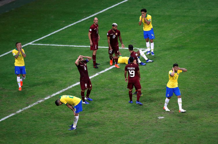 2019 06 19t023017z 1293862895 rc16e7fc40e0 rtrmadp 3 soccer copa bra ven - Brasil empata sem gols com Venezuela