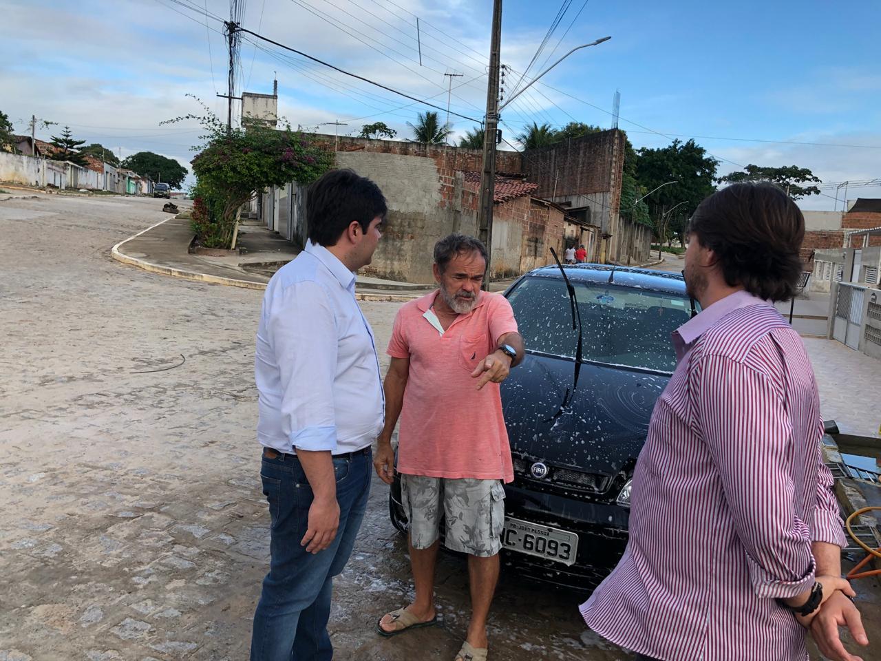 35c4740b 7edf 47fd a230 ca88c06cea1e - Eduardo Carneiro aproveita recesso na ALPB para acompanhar execução de obras em João Pessoa
