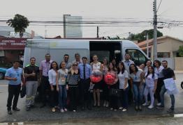 Colaboradores do Hapvida realizam doação de sangue em alusão ao Junho Vermelho