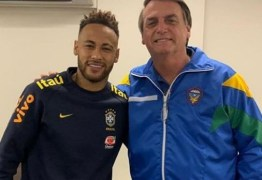 ENCONTRO: Presidente visita Neymar em clínica de Brasília