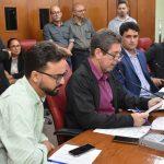 Reunião da C.F.O. 17 06 2019 Olenildo 026 1024x683 - LDO para 2020 recebe parecer favorável da Comissão de Finanças e Orçamento