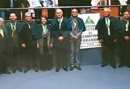 Jornalista Arimatéia Sousa foi empossado membro da Academia Campinense de Letras