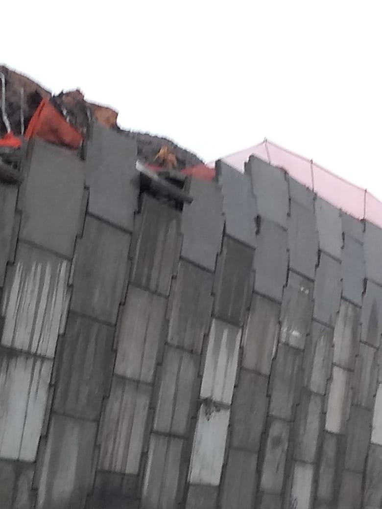 WhatsApp Image 2019 06 13 at 16.49.55 - COM CASAS ALAGADAS: moradores de Cabedelo culpam obra do DNIT e fecham BR em protesto