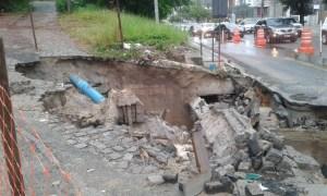 WhatsApp Image 2019 06 17 at 10.43.03 300x180 - Galeria pluvial cede e trecho da Avenida Ruy Carneiro é interditado - VEJA FOTOS