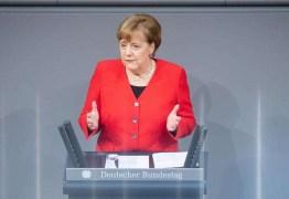 """GOVERNO BOLSONARO: """"Vejo como dramático o que acontece no Brasil"""", diz Merkel"""