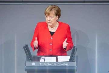 """angela merkel - GOVERNO BOLSONARO: """"Vejo como dramático o que acontece no Brasil"""", diz Merkel"""