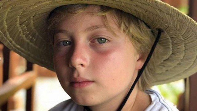 APÓS ACIDENTE NO MAR: Benício, filho de Luciano Huck e Angélica, recebe alta hospitalar