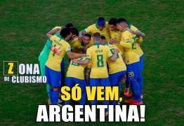 Memes com Brasil x Argentina na semifinal da Copa América invadem as redes sociais
