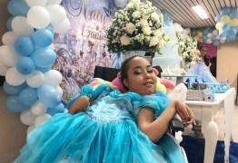 SONHO REALIZADO: Adolescente internada há 5 anos com doença degenerativa ganha festa de 15 anos em hospital da PB