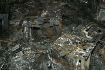 FOGO: Incêndio atinge galpão de resíduos de eletroeletrônicos, no Conde, PB
