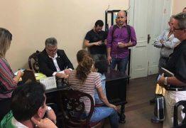 NINJA NA REDE: assim como em seu gabinete na ALPB, sala de secretário João Gonçalves na pasta da Articulação Política vive movimentada