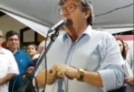 """""""O momento mais feliz desse governo é quando a gente está inaugurando escola"""" revela João Azevêdo"""