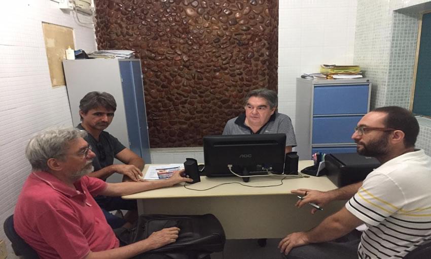 lindolfo tres - Após reunião, Lindolfo Pires defende criação do Fórum Paraibano de Mudanças Climáticas no Sertão