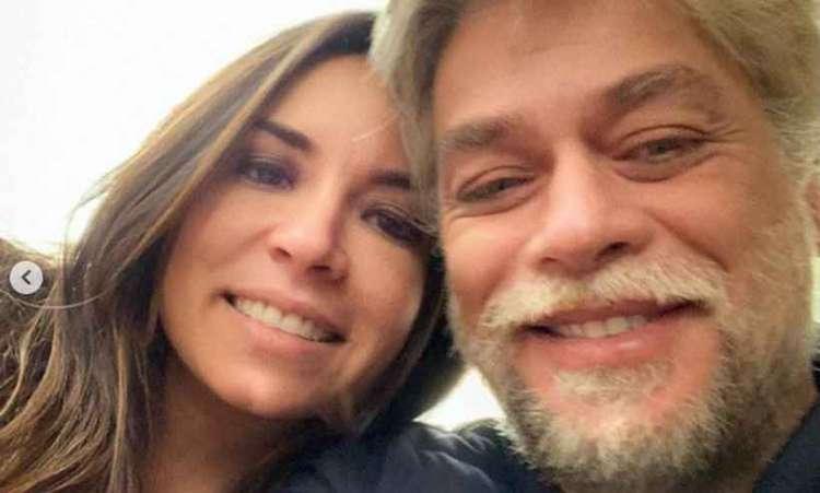 mel pedroso fábio assunção namorada - Namorada de Fábio Assunção defende ator no Instagram: 'Essas são fotos atuais do meu namorado'