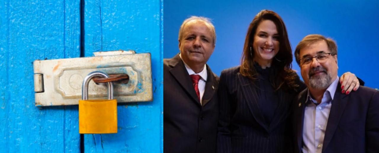 michele ramalho - PORTAS FECHADAS E FUNCIONÁRIOS DISPENSADOS: Michelle Ramalho viaja para França e tranca FPF sem repassar cargo a vice