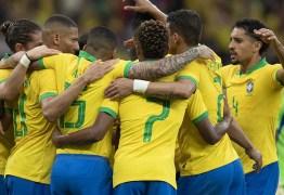 Após recentes vitórias seleção brasileira sobre para 3° lugar no ranking da Fifa