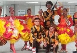 RECEPÇÃO: Turistas desembarcam na Paraíba em clima de festa junina