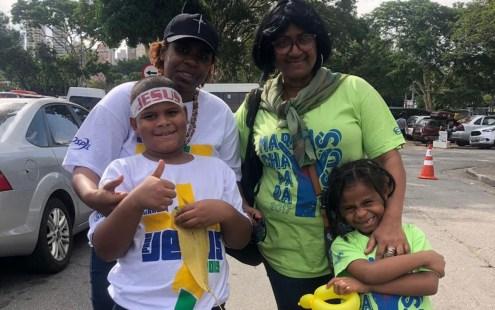 """sheila 300x188 - Jair Bolsonaro é o primeiro presidente da república a participar da """"Marcha para Jesus"""""""