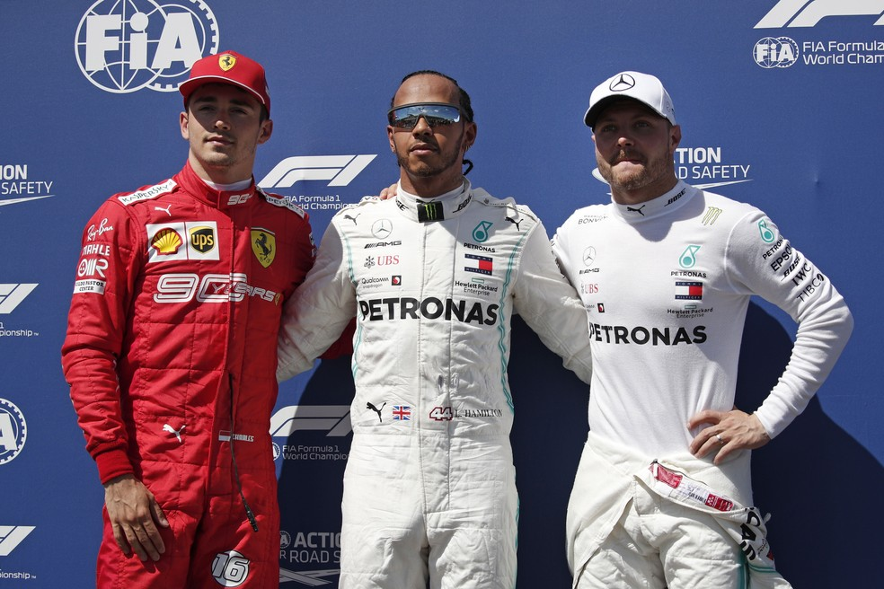 treino fórmula 1 frança - Na França, Lewis Hamilton garante nova pole position e supremacia da Mercedes na temporada