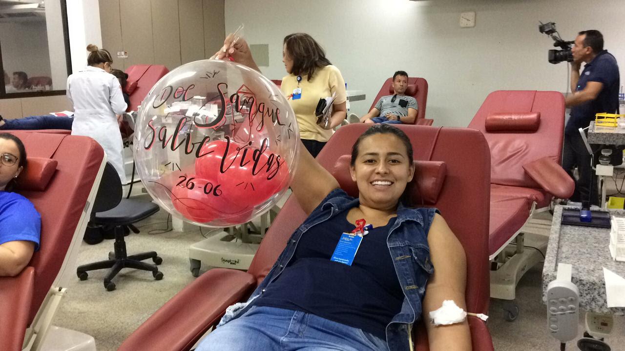 unnamed 5 - Colaboradores do Hapvida realizam doação de sangue em alusão ao Junho Vermelho