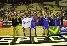 Basquete Unifacisa vence o São Paulo no Morumbi e conquista a Liga Ouro 2019
