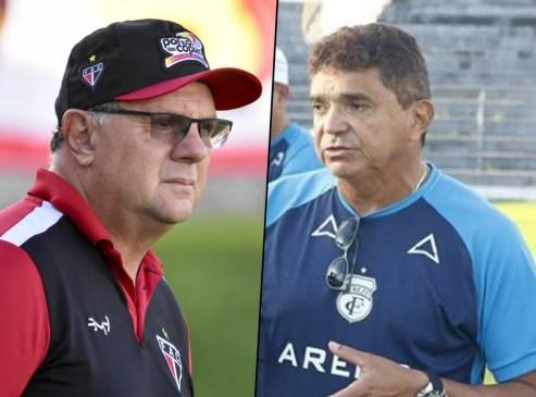 vilar x flavio 300x222 - Flávio Araújo e Marcelo Vilar se reencontram em sétima rodada da Série C do Campeonato Brasileiro