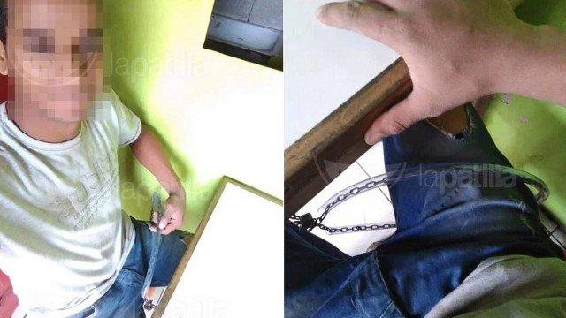 xblog venezolano.jpg.pagespeed.ic .jvEKf1kAW  - Venezuelano é acorrentado a mesa para não sair sem pagar a conta em restaurante