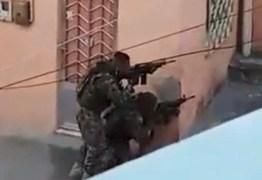 Vídeo de tiroteio que viralizou nas redes é gravação de série policial – ASSISTA