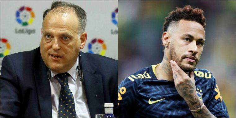 1561994143566674 - Presidente de La Liga não quer Neymar de volta: 'Não é um bom exemplo'