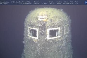 """25285192 - """"Chernobyl do fundo do mar"""": Pesquisadores detectam vazamento de radiação em submarino nuclear -VEJA VÍDEO"""