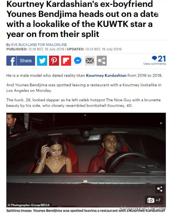 AAEpeFK - Bruna Marquezine é flagrada com ex de Kardashian em Los Angeles