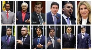 BeFunky collage 3 300x166 - REFORMA DA PREVIDÊNCIA: 4 votos contra e, 8 a favor; veja como votaram os deputados da Paraíba