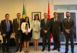 Comitiva do governo da Paraíba está na China para garantir implantação do estaleiro de Lucena e investimentos para o estado