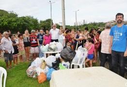 Sindicado dos Bancários entregou doações às vítimas das chuvas na comunidade São Rafael