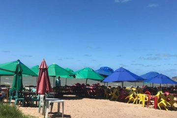 Reordenamento Praia Coqueirinho 1 1200x545 c - Praça de Alimentação da Praia de Coqueirinho recebe melhoria de equipamentos turísticos