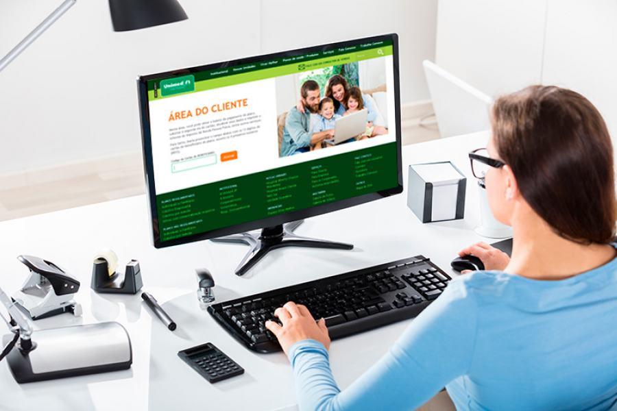 UNIMEDCLIENTE - Cliente da Unimed JP pode cadastrar fatura digital para pagar plano