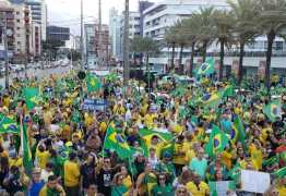 Wallber Virgolino elogia manifestação pró-Sérgio Moro em JP: 'O país está sendo passado a limpo'