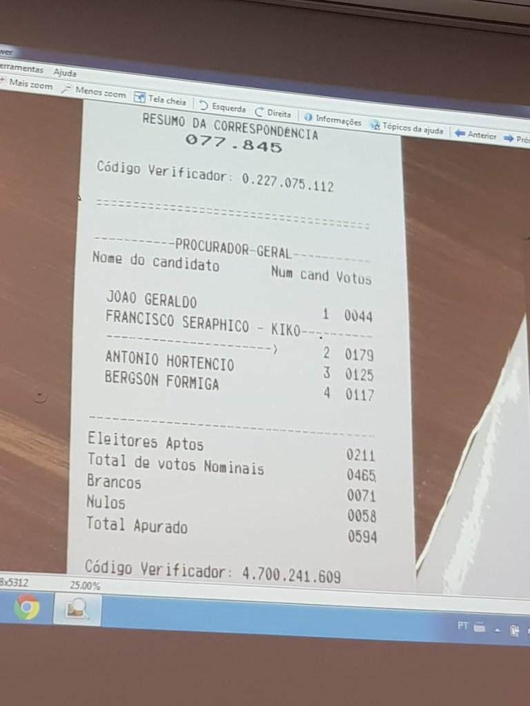 WhatsApp Image 2019 07 29 at 16.27.36 768x1024 - 'O GRANDE OBJETIVO É DEFENDER O CIDADÃO': Francisco Seráphico é o mais votado em lista tríplice do MPPB; VEJA VÍDEO