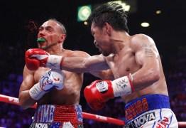 Pacquiao vence Thurman por pontos e conquista cinturão da Associação Mundial de Boxe