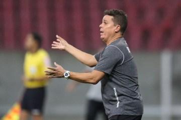 botafogo pb evaristo piza 1 - Evaristo Piza relata gosto ruim após empate com o Santa Cruz