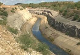 MONTEIRO-PB: canal da transposição está sem receber águas há quase 5 meses- VEJA VÍDEO