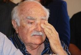 Ex-governador Wilson Braga está internado na UTI de hospital em João Pessoa