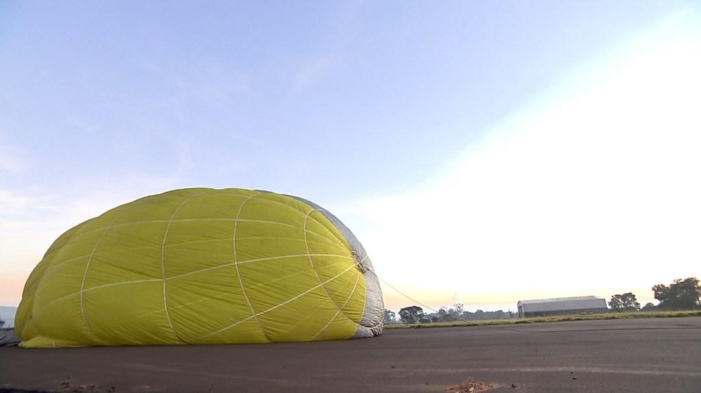 dirigivel 3 1024x574 - Piloto restaura dirigível de ar quente para voar como Santos Dumont
