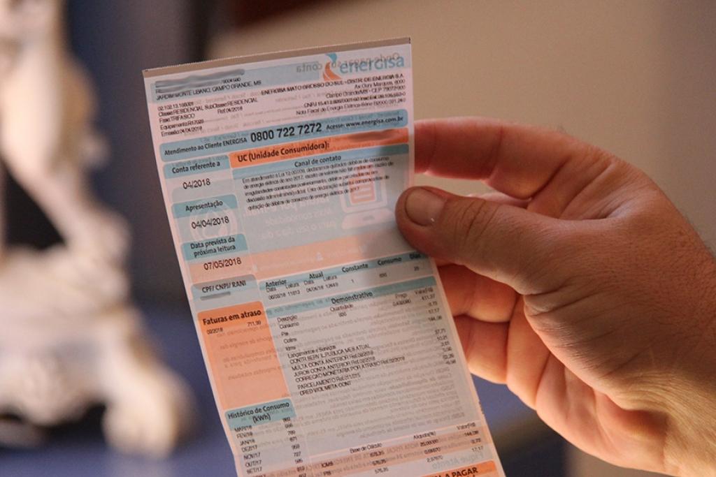 fatura conta boleto energisa - Mais de 40 mil clientes da classe rural precisam atualizar seus cadastros junto à Energisa