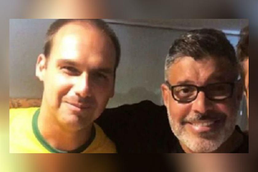 frota e eduardo bolsonaro instagram - Alexandre Frota a Eduardo Bolsonaro pelo Twitter: 'Faz três semanas que eu esqueci você'