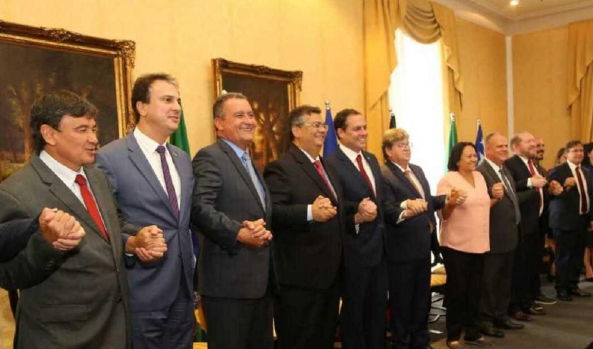 governadores Nordeste - QUATRO PAÍSES EUROPEUS JÁ QUEREM INVESTIR NO NORDESTE: João Azevedo se reúne com governadores da região e com embaixador francês nesta segunda-feira