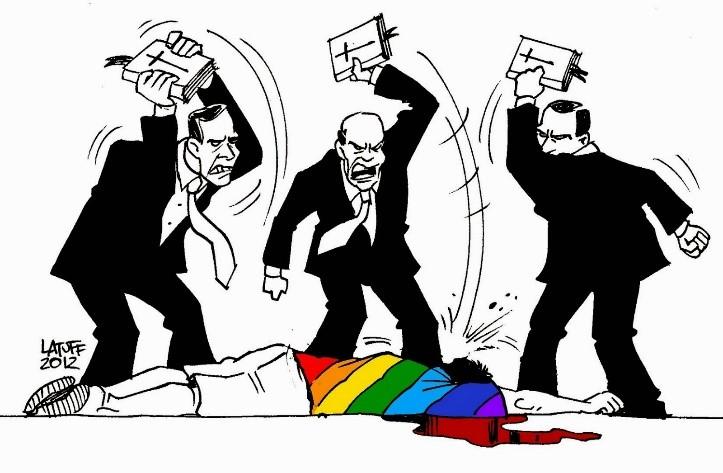 homofobia - Deputados aprovam regra para que pastores não preguem que homossexualidade é pecado
