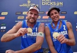 Paraibanos estão na corrida olímpica de vôlei de praia para os Jogos de Tóquio 2020