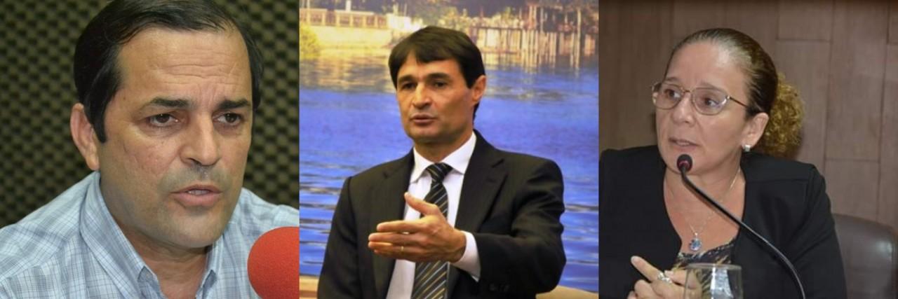 romero e secretários 1 - EM CAMPINA GRANDE: Secretária de educação é presa e secretário de administração é afastado durante Operação Famintos
