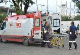 ATROPELADO E ARRASTADO: Idoso de 70 anos é atingido por caminhão na Avenida Josefa Taveira